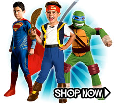 Boys Costumes via Trendy Halloween