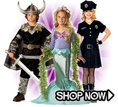 Dress Up and Pretend Play Costumes via Trendy Halloween