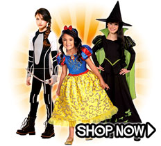 Girl Costumes via Trendy Halloween
