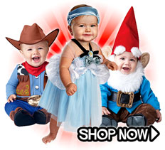 Infant Costumes via Trendy Halloween