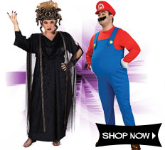 Plus Size Costumes via Trendy Halloween
