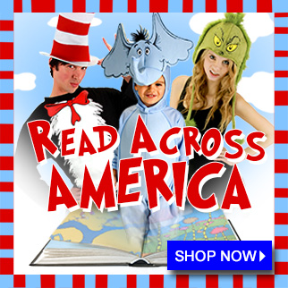 Read Across America Dr Seuss Costumes and Accessories via Trendy Halloween