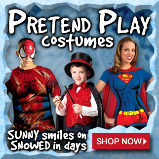 Snow Day Costumes via TrendyHalloween.com