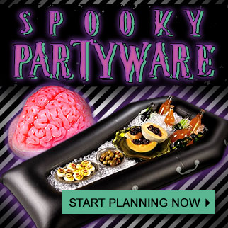 Spooky Partyware at Trendy Halloween