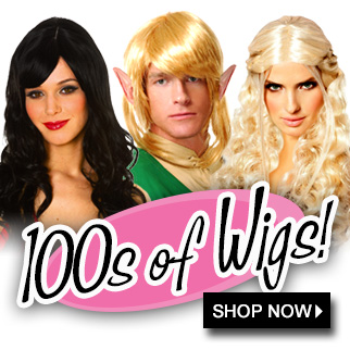 Wigs for cosplaying via Trendy Halloween
