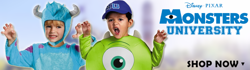 Monsters University Costumes