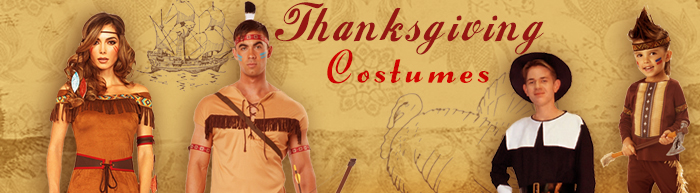 Thanksgiving Costumes - Turkey Costumes - Pilgrim | TrendyHalloween.com