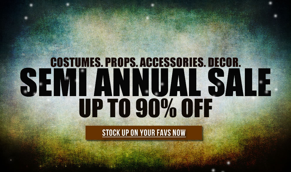Semi Annual Winter Sale 2019 TrendyHalloween.com