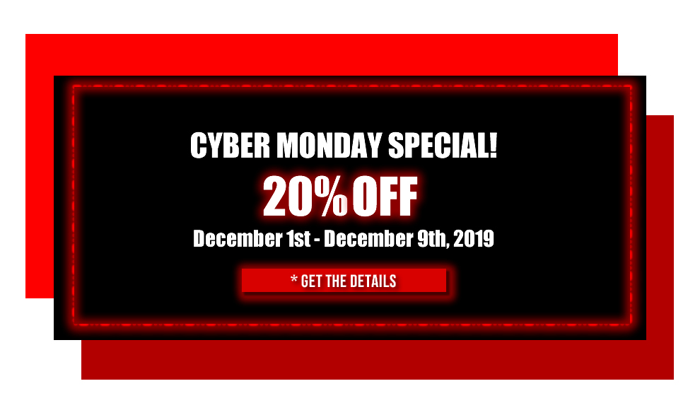 Cyber Monday 20% off Sale 2019 TrendyHalloween.com