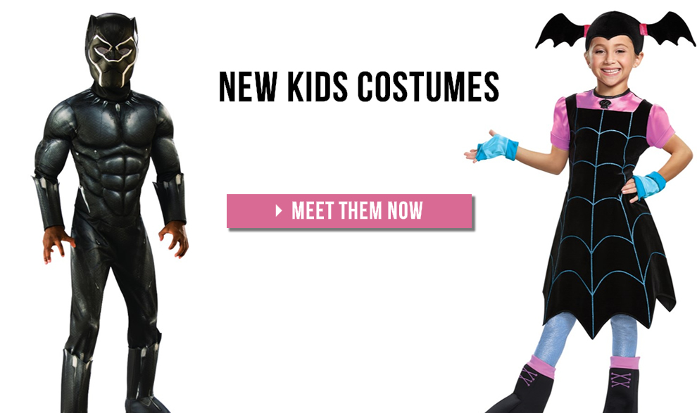 New Costumes for Girls and Boys | 2018 TrendyHalloween.com