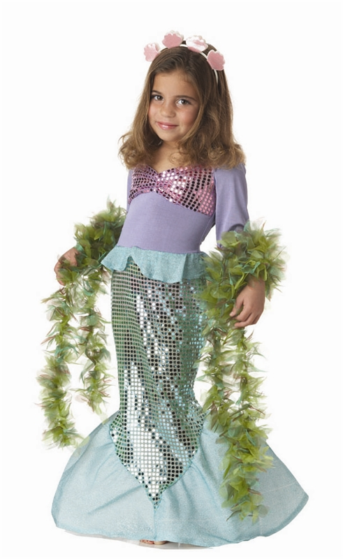 Little Mermaid Toddler Costume