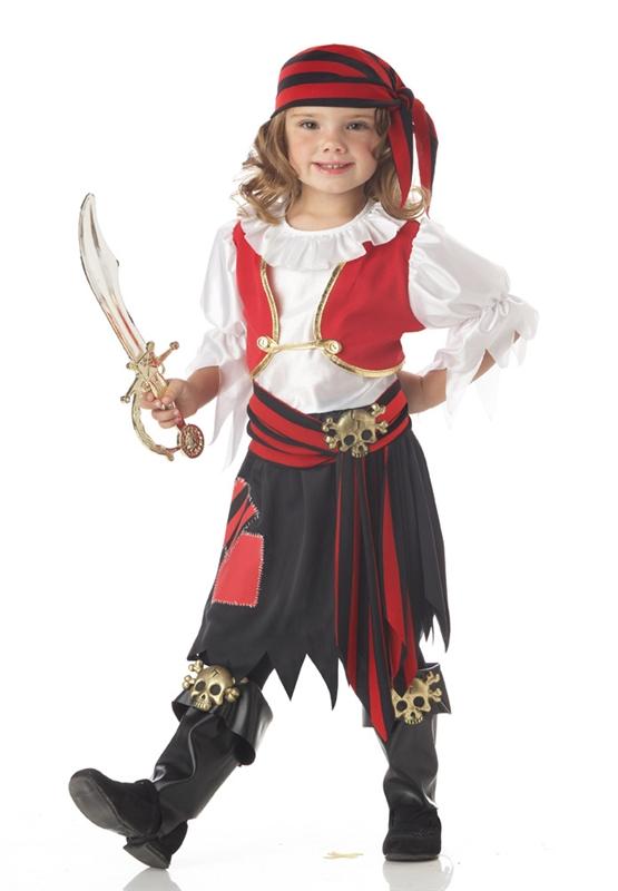 Костюм пиратки своими руками с фото