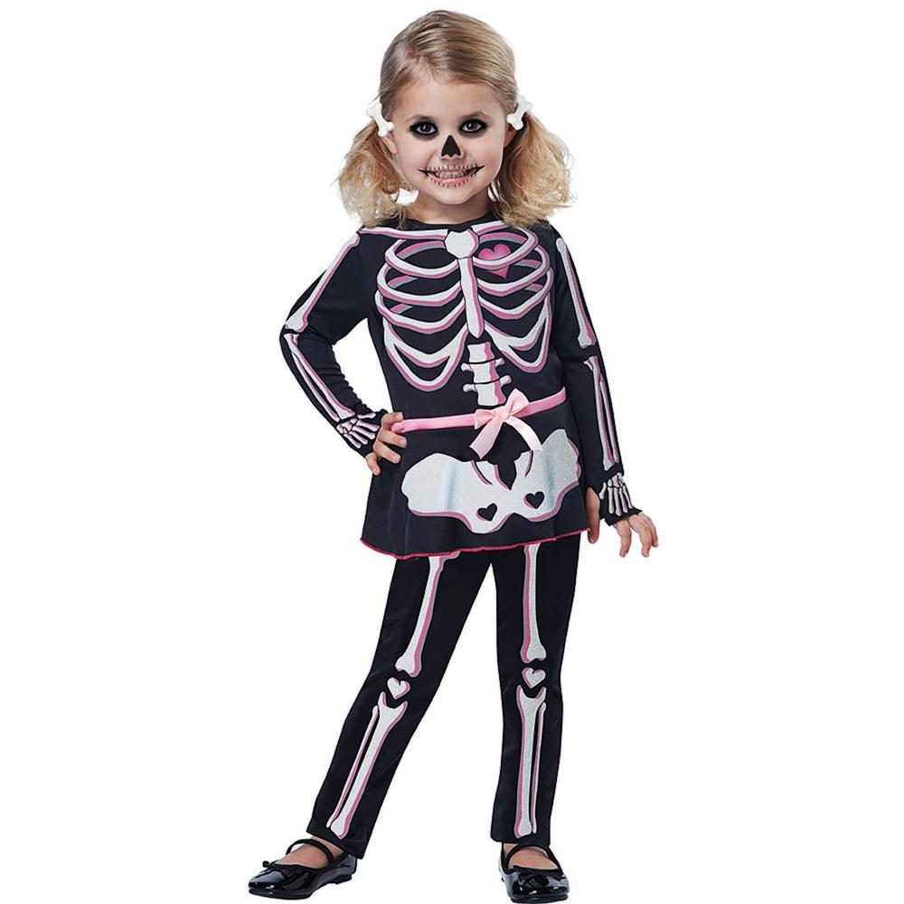 Itty Bitty Bones Toddler Costume
