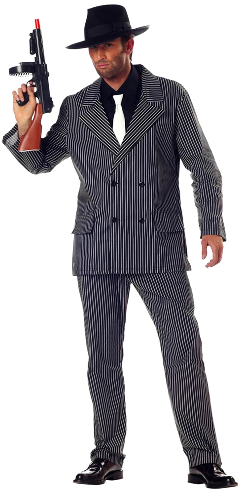 Roarin 20's Gangster Adult Mens Costume by California Costumes
