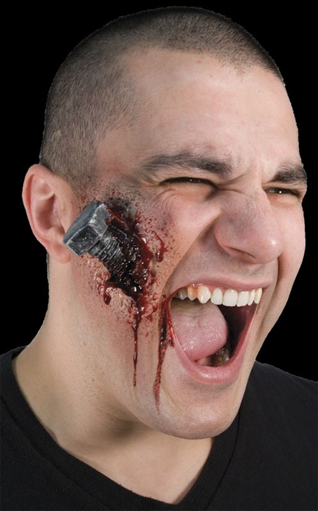 Woochie Bloody Bolt Prosthetic