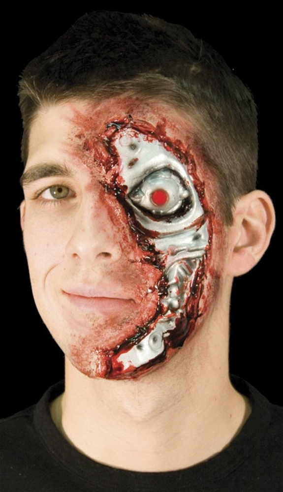 Woochie Terminal Face Prosthetic by Cinema Secrets