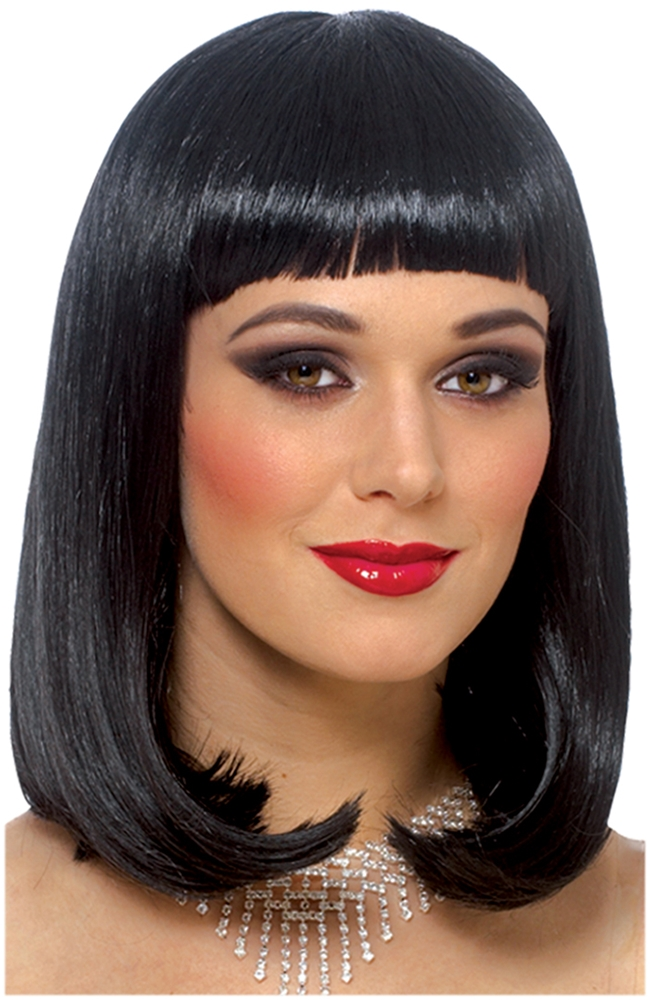Black Peggy Sue Adult Wig