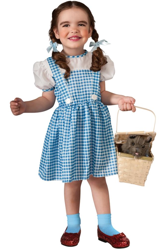 Blue Toddler Christmas Dress