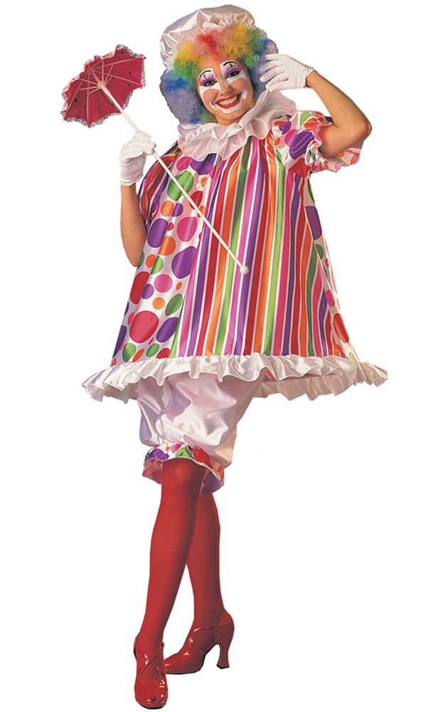 Betty Brite Clown Adult Womens Costume