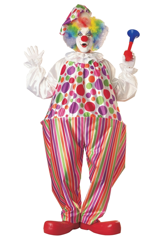 Snazzy Clown Adult Costume