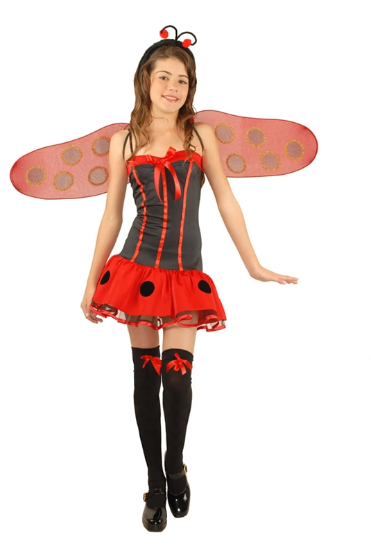 Lady Bug Girls Costume by Charades