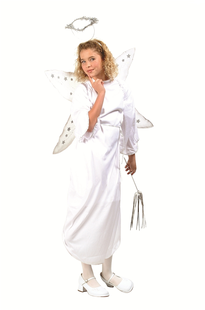 White Angel Child Costume