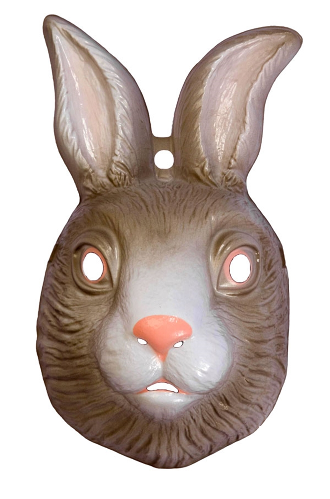 Rabbit Plastic Mask