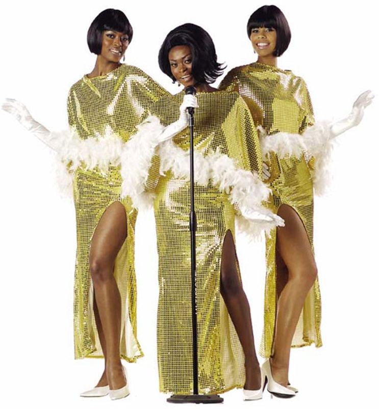 Motown Diva Adult Womens Costume