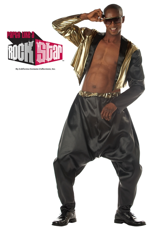 Old School Rapper Plus Size Adult Mens Costume