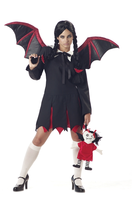 Very Bat Girl Adult Womens Costume by California Costumes