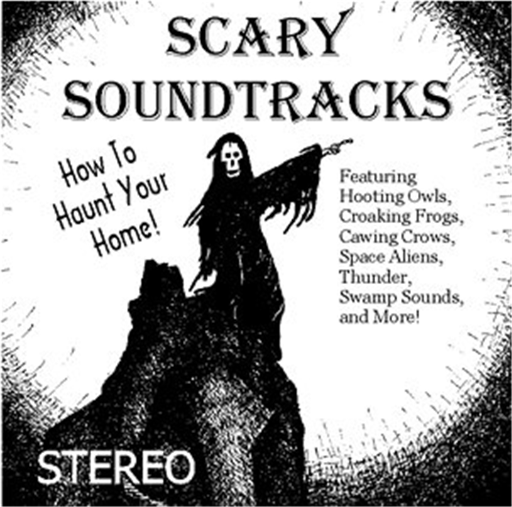 Scary Sounds CD