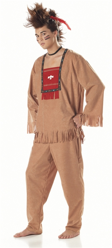 Indian Running Bull Adult Mens Costume