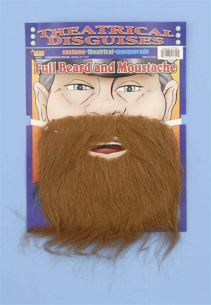 Brown Pirate Beard