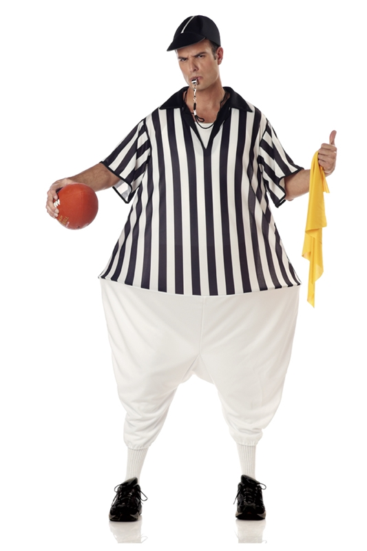 Referee with Hoop Costume
