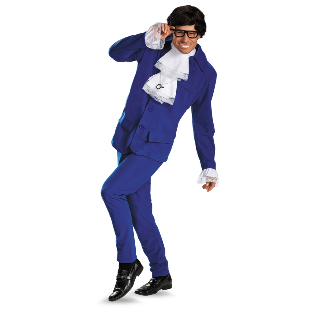 Austin Powers Deluxe Adult Mens Costume