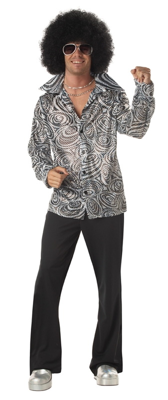Groovy Disco Adult Mens Costume by California Costumes