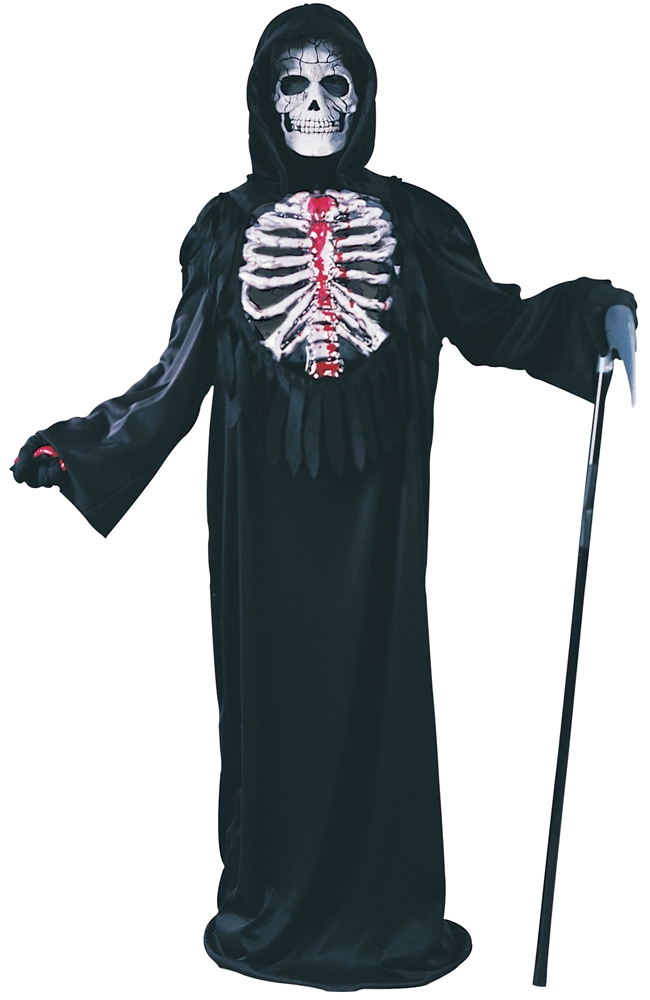 Bleeding Skeleton Chest Child Costume 8758