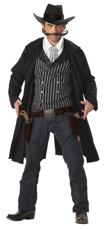 Gunfighter Cowboy Adult Mens Costume