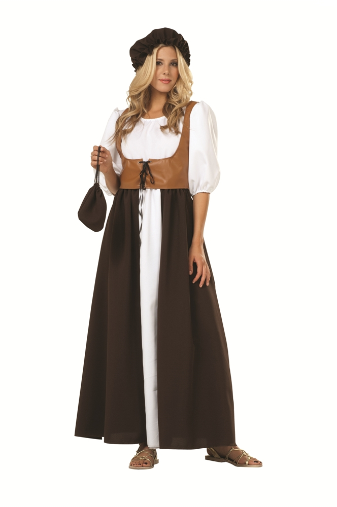 Renaissance Peasant Adult Womens Costume