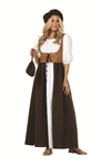 Womens Peasant Dress