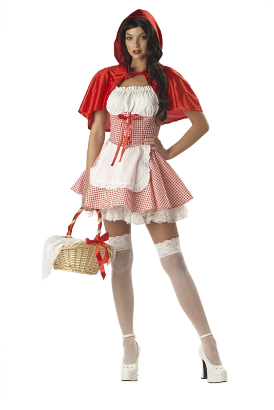 Red Riding Hood Adult Womens Costume