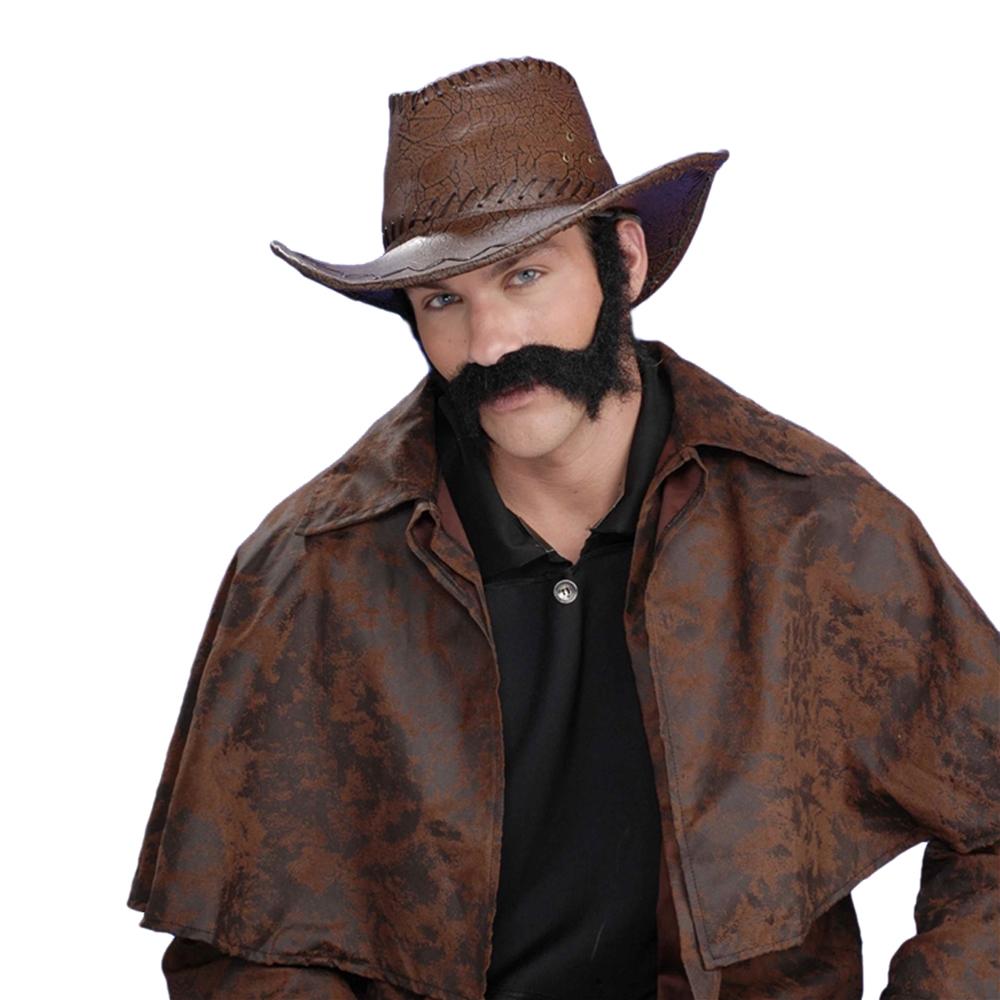 Civil War General Moustache & Sideburns
