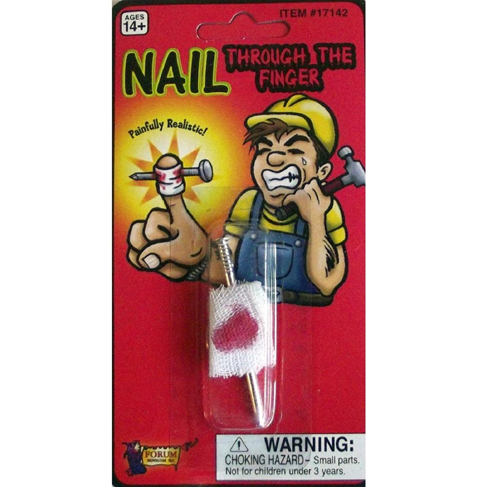 Nail Thru Finger Gag