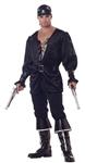 Pirate Blackheart Adult Mens Plus Size Costume