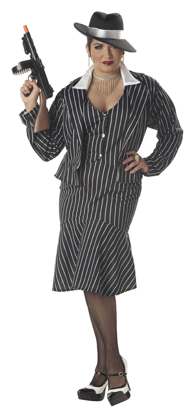 Image of Mafia Mama Plus Size Costume