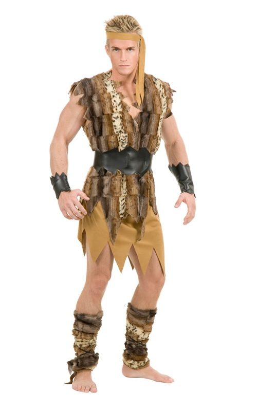 Cool Caveman Adult Mens Costume