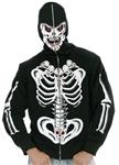 Six-Pack-Of-Skulls-Skeleton-Adult-Mens-Hoodie