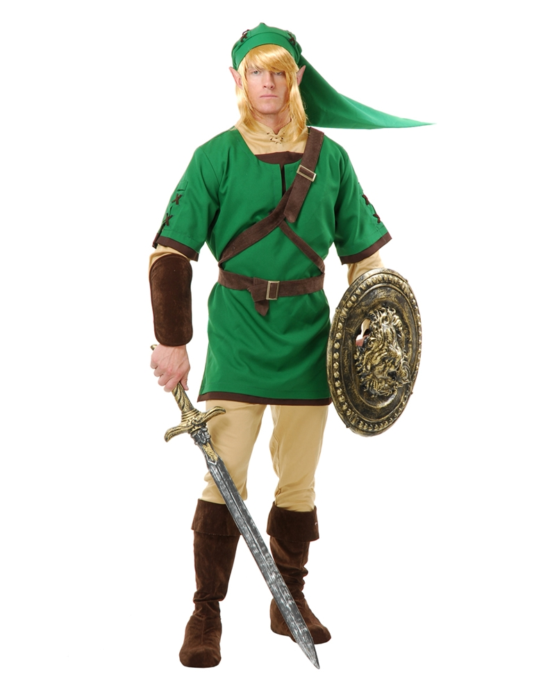 Elf Warrior Adult Mens Costume