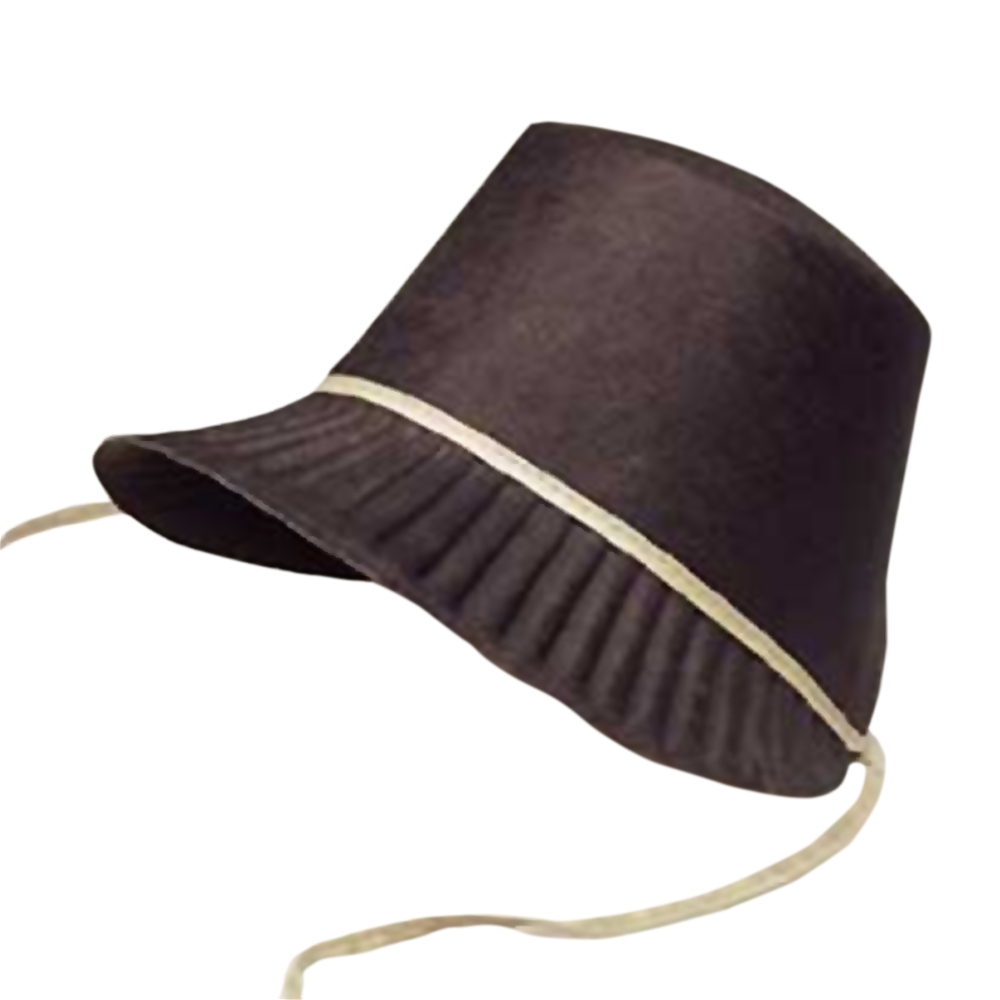 Black Pilgrim Bonnet