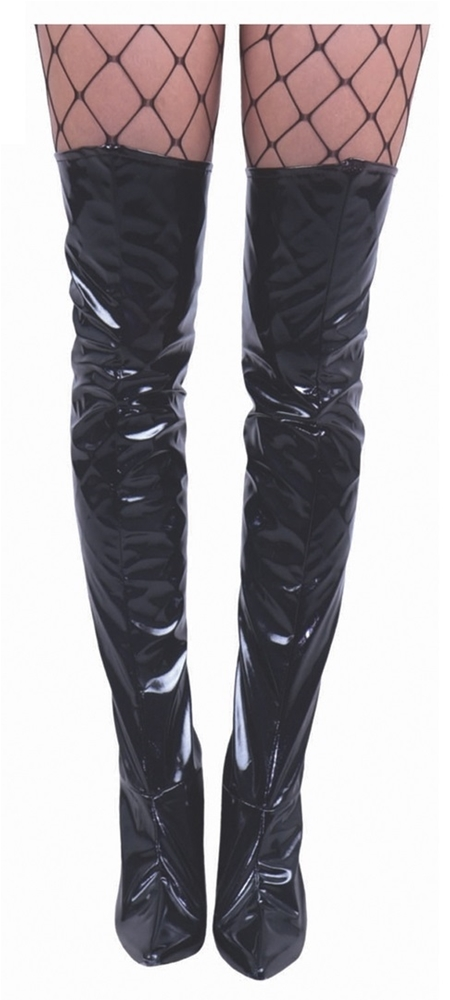 Thigh High Vinyl Boot Covers (More Colors)